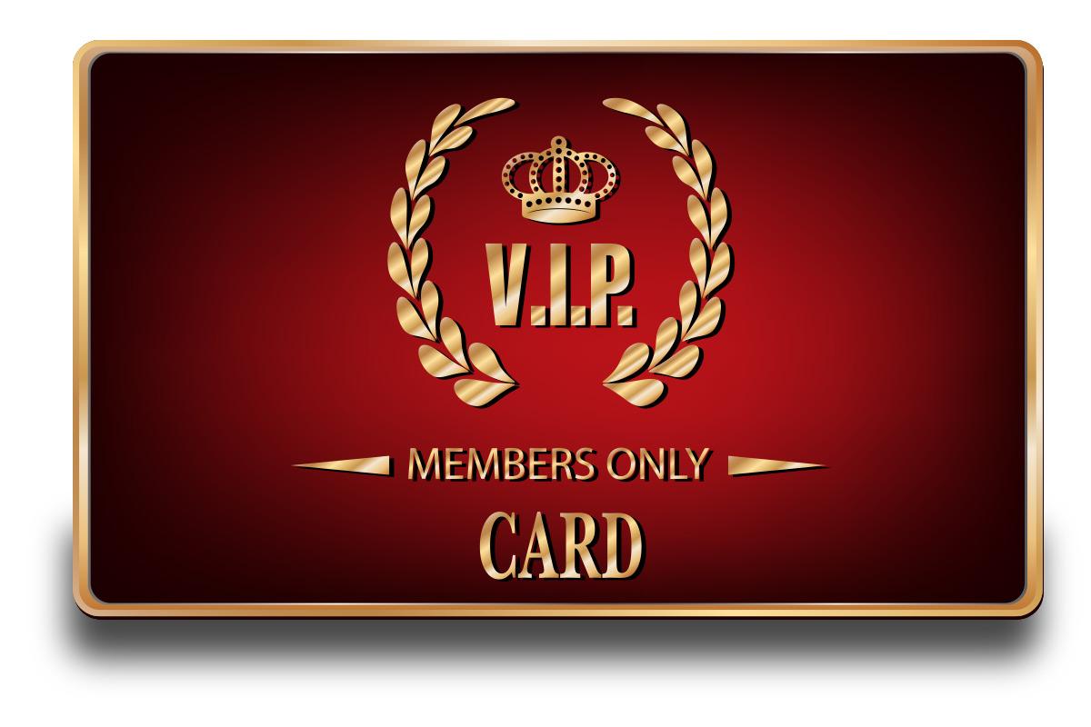 Car wash membership card